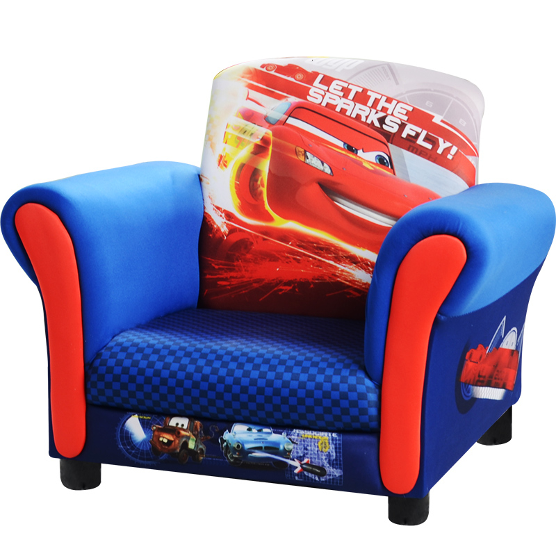 Cartoon Automobile Children Sofa Kindergarten Early Education Core Kids Room Sofa Chair Bean Bag Baby Furniture Zitzak One Seat