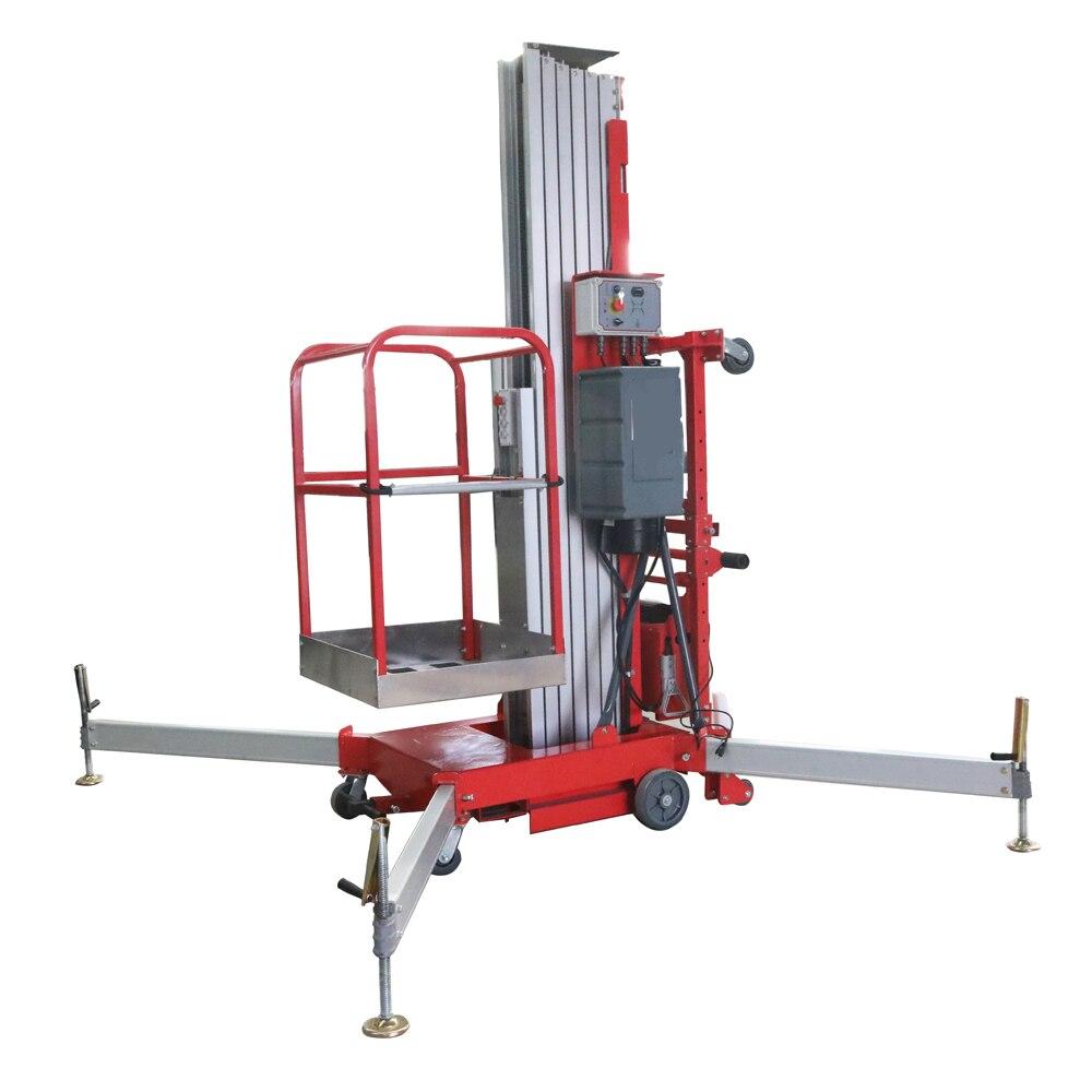 6m-10m Aluminum alloy lift platform ...