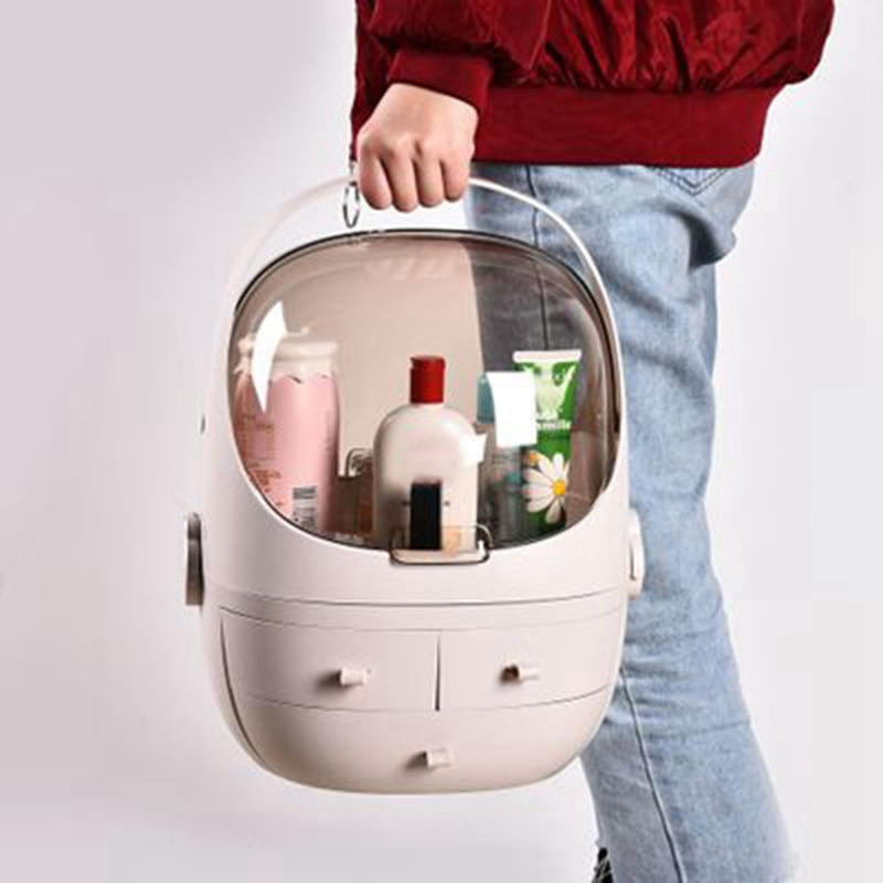 Clamshell-3-Drawer-Dressing-Table-Rounded-Makeup-Holder-Storage-Box-For-Lipstick-Jewelry-Cosmetic-Organizer (3)