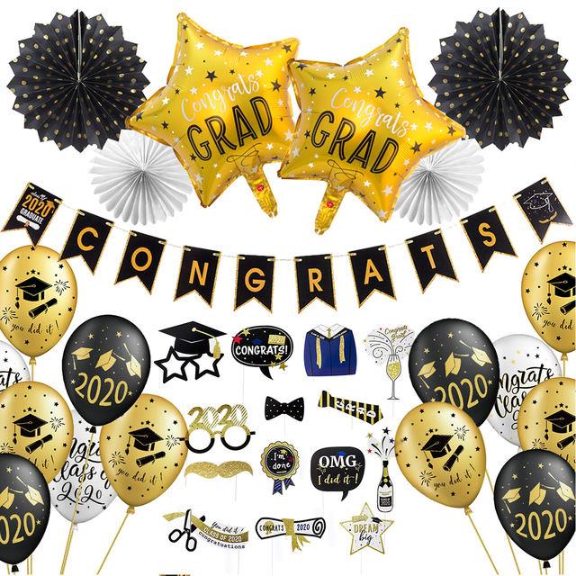 Graduation 2020 Party Decoration Set
