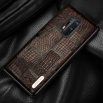 Genuine Cow Leather Phone Case For Oneplus 8 Pro 8T 7T 7 6T 6 7Pro 7T Pro 5T Luxury Retro Splice Cover for One plus 7 Pro 5 8Pro