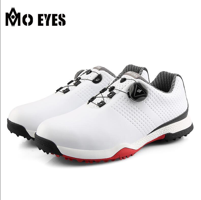 Sapatos de Golfe dos Homens de Microfibra à Prova Tênis de Golfe de Alta Água Grande Confortável Único Super Macio Respirável Super-antiderrapante Qualidade d'