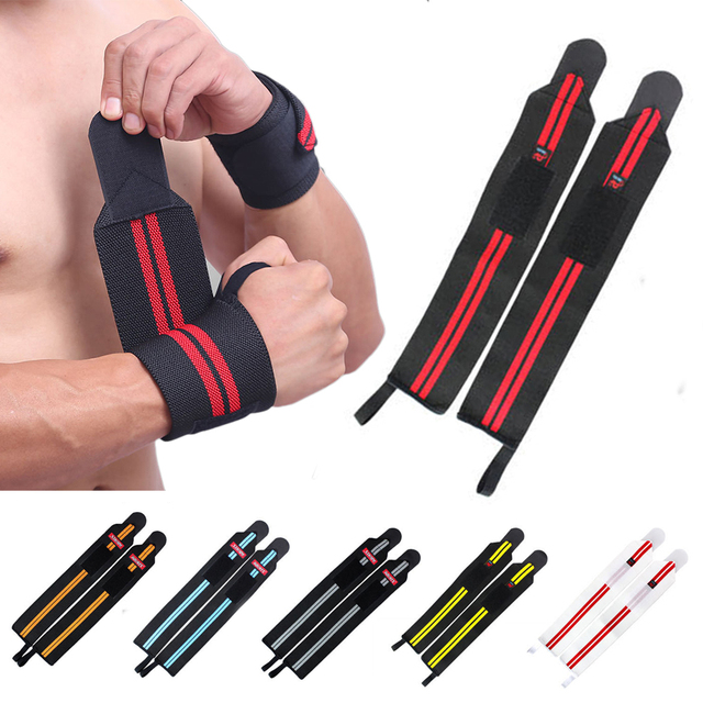 1 Pc Adjustable Wrist Band Hand Protection Wraps Powerlifting Bodybuilding Bandage Breathable Wrist Support High Quality