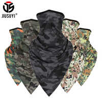 Tactical Summer Tube Camo Headband Military Balaclava Bandana Triangle Face Mask Windproof Soft Thin Wrap Scarf Neck Gaiter Men