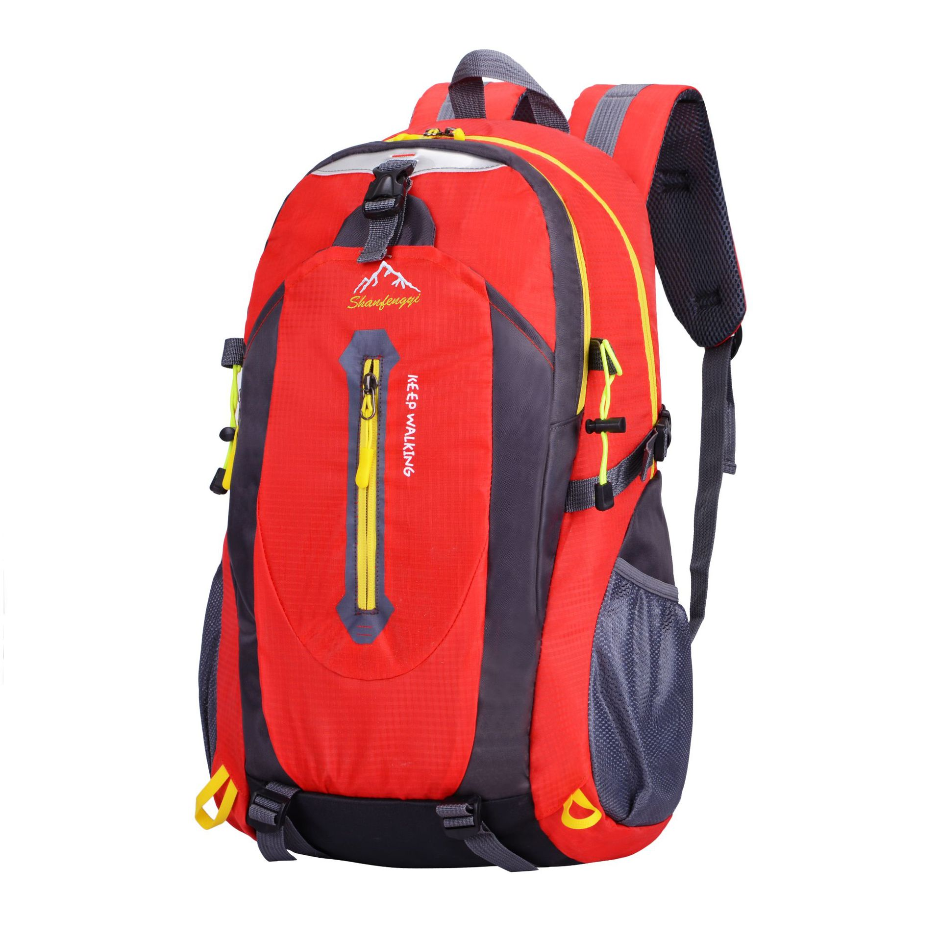 Cross Border For Outdoor Shoulder Sports Bag Travel Agency Customizable Waterproof Mountain Climbing Hiking Backpack