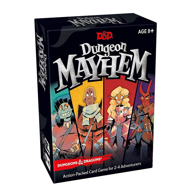 Dungeon Mayhem Full English Board Game Family Fun Adult Kids Interactive Game Educational Toys