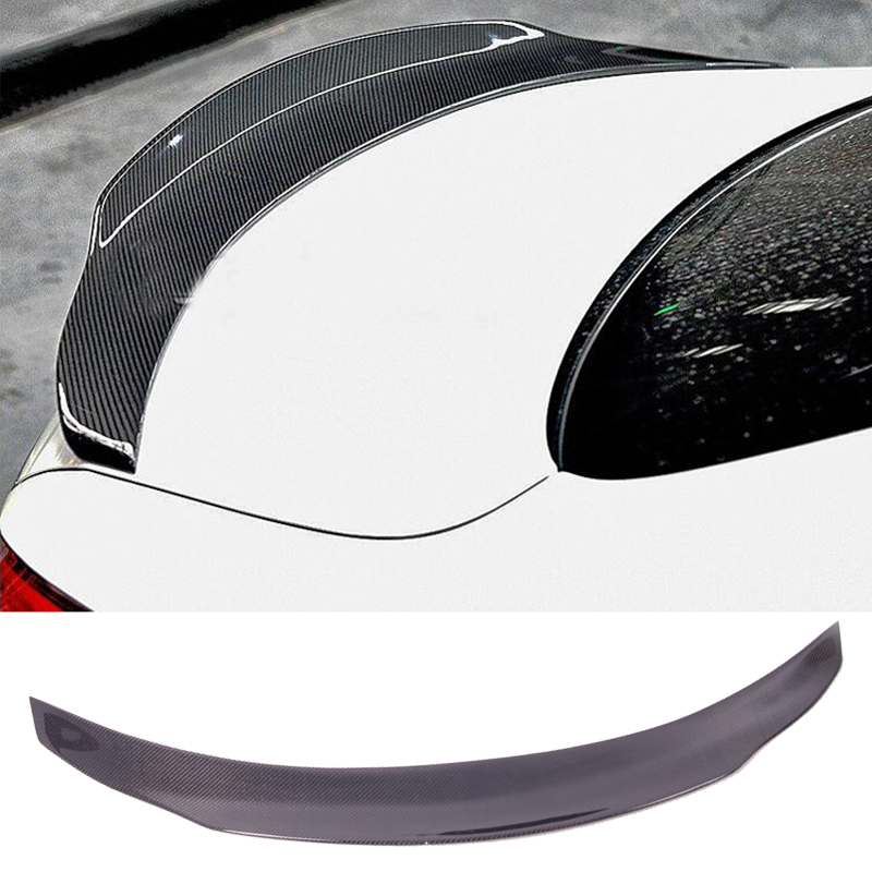 PS-M Style Carbon fiber Trunks Spoiler Fit For <font><b>Benz</b></font> C-Class W205 C63 W117 W218 W213 W222 <font><b>C238</b></font> image