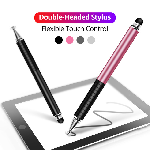 Universal 2 in 1 Stylus Drawing Tablet Pens Capacitive Screen Caneta Touch Pen for Mobile Android Phone Smart Pen Accessories 2