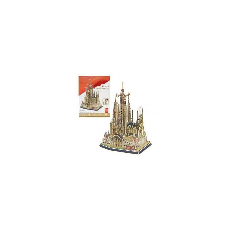 3D Puzzle Sagrada Family Toy Store Articles Created Handbook