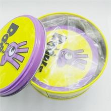 Высококачественная настольная игра для детей Dobbles Spot Cards It Go Camping 7 английская версия абсолютно новая с металлической жестяной коробкой Hip Sports