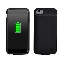 2800mAh 배터리 케이스 iPhone 6 s 6 s 7 8 보조베터리 충전 케이스 배터리 충전기 케이스 커버 울트라 슬림 외부 백 팩.