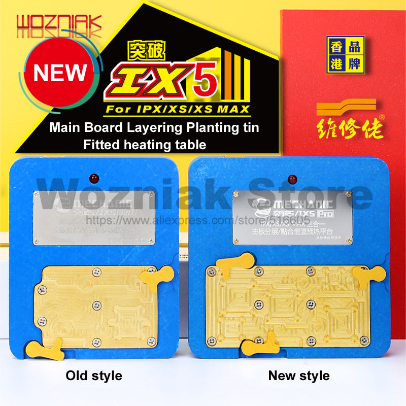 MECHANIC For Thermostat Remove Welding Platform Desoldering Rework Station Heater For IPhone 11 PRO X XS MAX Mainboard Separate