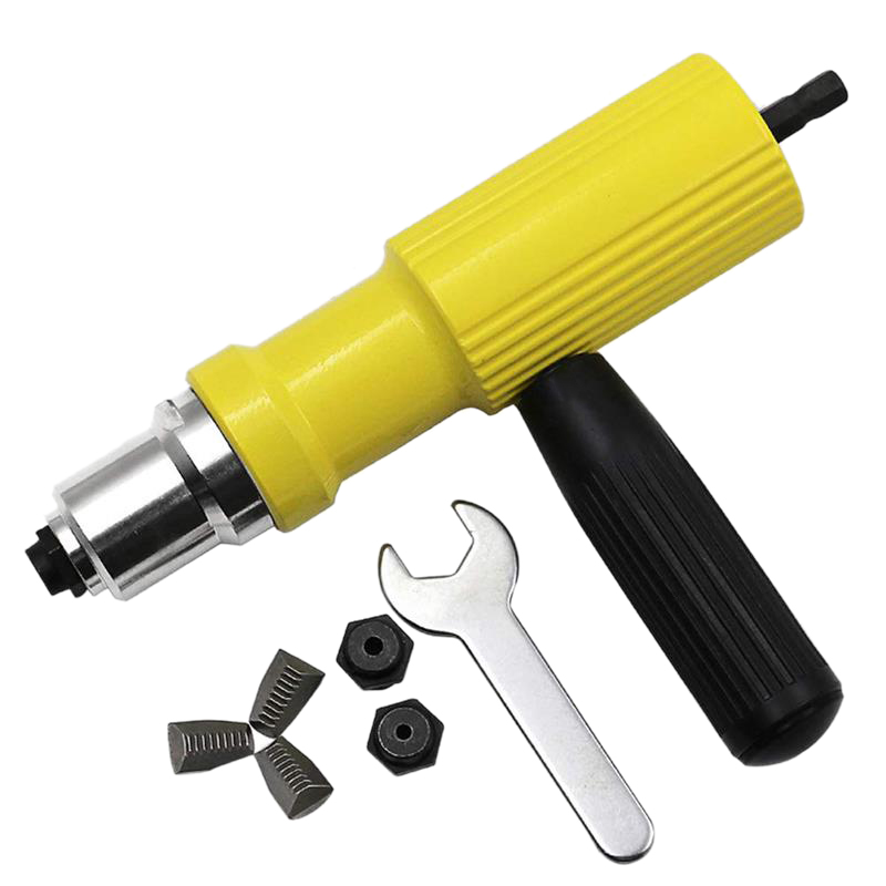 HHO-Electric Electric Rivet Machine Pull Pin Conversion Head Accessories Core Pulling Set Hand Power Industrial Tools