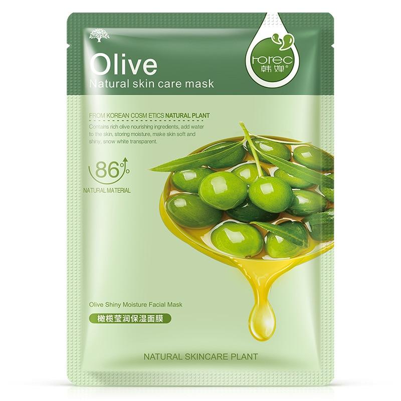 Olive Shiny Hydration Mask Water Moisturizing Lock Water Nourishing