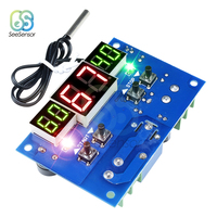 W1401 DC 12V 24V Intelligente Digitale Thermostat Temperatur Controller Thermometer Wasserdicht NTC Sensor Sonde
