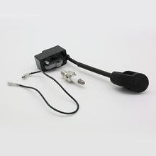 Ignition Coil Module Magneto Kit Spark Plug Fit For STIHL FS90 FS100 HL100 HL95 KM90 HT100 KM130 Trimmer Replace Parts
