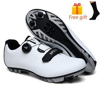 Carbon Fiber Men Cycling Shoe Breathable Triathlon Mountain Bike Shoes Man Sport Road Racing Snaeker Spin Buckle 10