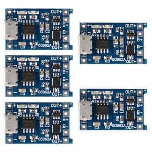 Image 2 - 5 個 TP4056 5V 1A マイクロ USB 18650 リチウム電池の充電ボード充電器モジュール保護 arduino の diy キット送料無料