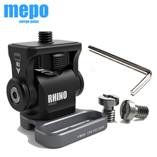 Adjustable Damping Head M3 Wrench Adjustable DSLR Camera Monitor Ballhead HDMI Wire Holder Clip Camera Cage Rig Cable Adapter