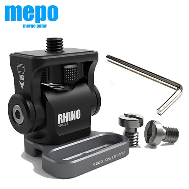 Регулируемая амортизирующая головка M3, гаечный ключ, регулируемая шаровая Головка для камеры DSLR, HDMI, провод держатель, зажим для камеры, Кабель адаптер