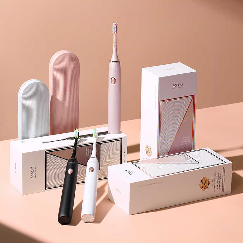 SOOCAS X3 sonic מברשת שיניים חשמלי Xiaomi Mijia שן מברשת Ultra sonic אוטומטי המשודרג USB החייבת למבוגרים עמיד למים IPX7