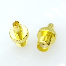 SMA Female to TS9 Male Plug RF Coax Adapter convertor Straight Goldplated 1pc sma male plug rf coax connector pcb cable straight goldplated new wholesale