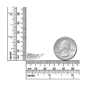 Image 5 - 925 סטרלינג כסף יוקרה נוצת פיות כנפי עגילי גבירותיי תכשיטים במפעל ישיר משלוח חינם