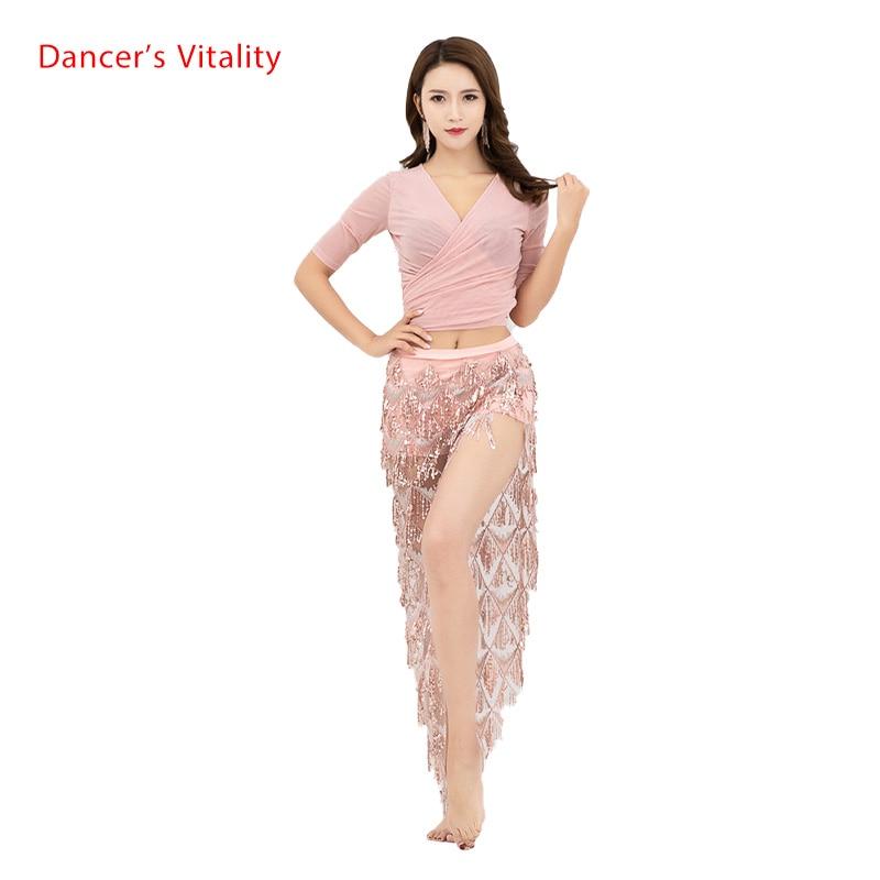2019 Women's Wear Hot Sale Belly Dance Performance Belly Dance Performance Top/Skirt  Belly Dance Stage Performance Skirt