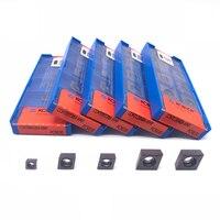 Inserção original ccmt060204 ccmt09t304 ccmt09t308 ccmt120404 ccmt120408 inserção de carboneto de torneamento interno para aço inoxidável|Ferr. torneam.| |  -