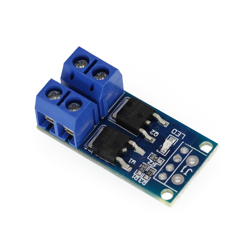 DC 5-36V 400W Dual Large Power MOS Transistor Drive Module, DC Motor Speed Control Board, 0-20KHz PWM Electronic Switch Control