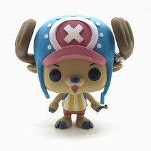 Original One Piece choba Cartoon VInyl Action Figure Collectible Model Toys for Children Gift anime 15th anniversary one piece animal series frog usopp sogeking figure model gifts toys collection model cartoon collectible