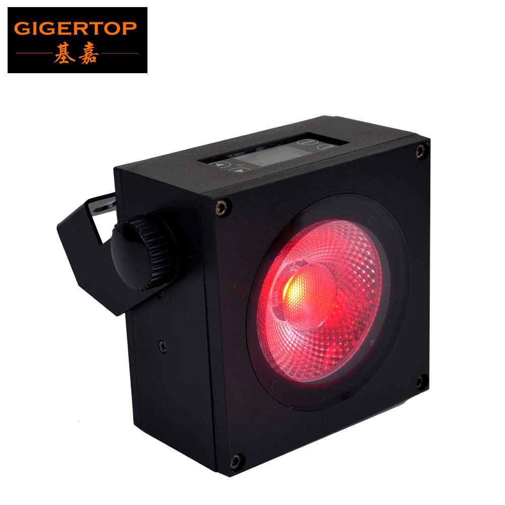 Gigertop nouveau 1x30 W Spot faisceau effet batterie LED dmx sans fil Par lumière éclairage professionnel de scène 25 degrés lentille 5/9 canaux