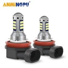 ANMINGPU 2PCS H11 Führte Nebel Lampe H8 H9 H16 1000/LM 9005/HB3 9006/HB4 H1 h3 H7 Led H27 881 880 Led lampen 2016SMD Nebel Glühbirne 12V