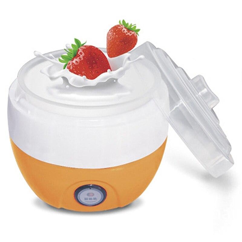 Electric Automatic Yogurt Maker Machine Yoghurt Diy Tool Plastic Container Kitchen Appliance EU Plug