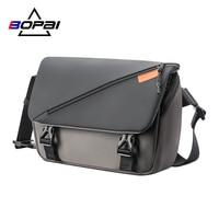 BOPAI Neue Mode Schulter Tasche männer Wasserdichte Große-Kapazität Messenger Handtasche Trendy Casual Reisetasche Multifunktionale männer