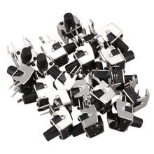20 Pcs Momentary Rechtwinklig Tactile Takt Push Button Switch 6x6mm x 8mm(China)