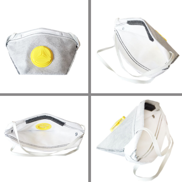 10 PCS 20 PCS 2 grade mask anti-smoke mask activated carbon anti-toxic formaldehyde dust-proof nose mouth anti-fog masks 1