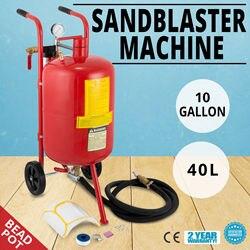 VEVOR 10 Gallon/40L Sabbiatrice Bead Vaso di Sabbia Blaster Sabbiatura Esplosione Sabbiatura