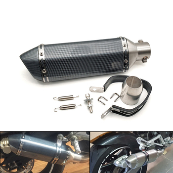 36-51MM Universal Motorcycle Exhaust Modify Motocross Exhaust Muffler For KTM 525EXR-W Suzuki GSF600 Bandit BURGMAN 400 GS1000