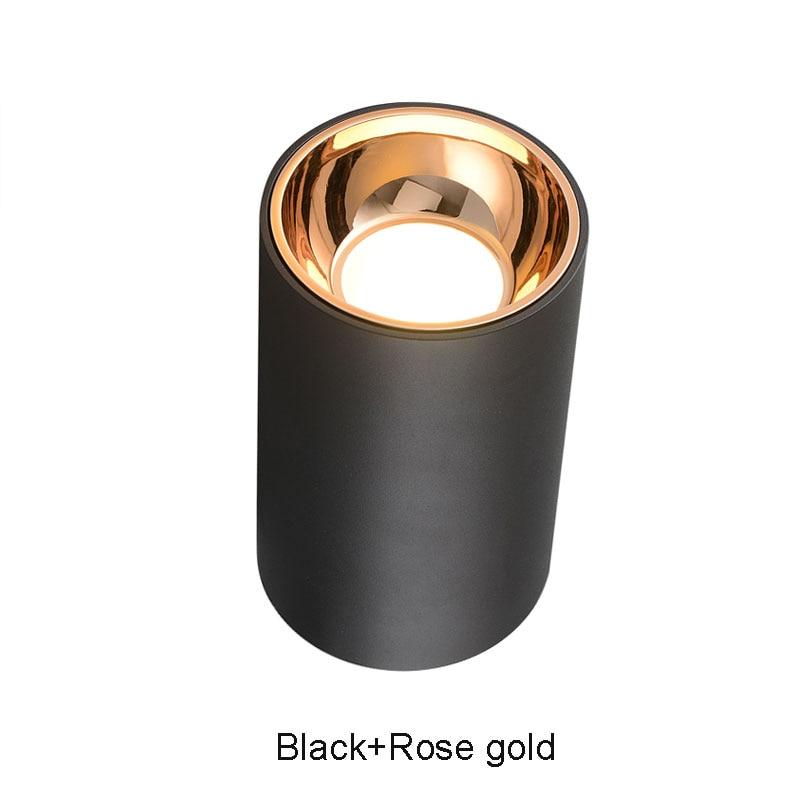 Black-Rose gold