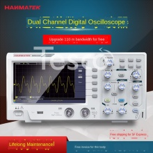 Digital oscilloscope dual channel 100M bandwidth handheld small portable oscilloscope digital hantek 3in1 2d72 2c7 2d42 2d72 250msa s digital oscilloscope waveform generator multimeter usb portable 2 channel multifunction