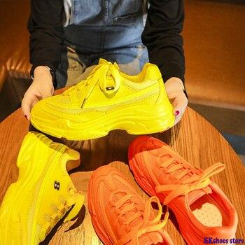 New Designer Sneakers Women Platform