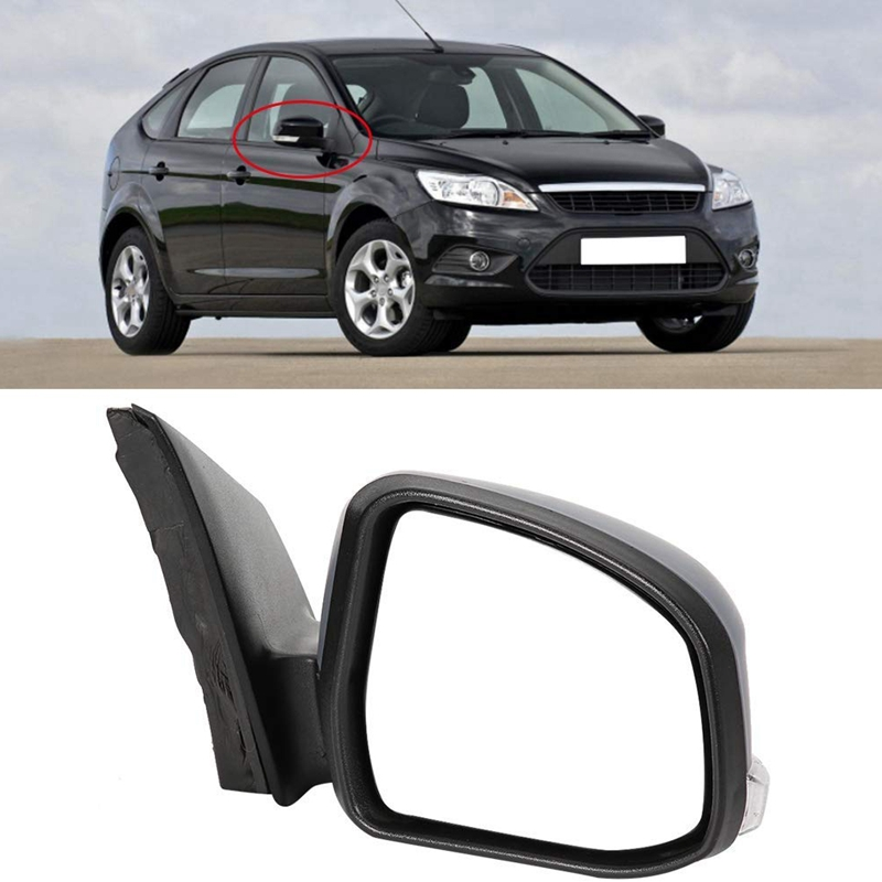 FORD FOCUS 2011 2015 ELECTRIC HEATED DOOR WING MIRROR DRIVERS SIDE RIGHT NEW