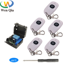 433 MHz Wireless DC 12V 1Channel Remote Control Switch Module and RF Transmitter Electronic Lock Car Door Led Light Control Lamp