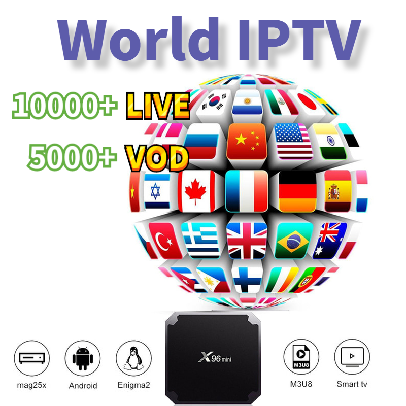 Iptv Espa A Spain Dutch Turkey Portugal Italia France Nordic Sweden Subscription Iptv M3u Vod For X96 H96 IOS Htv Android Tv Box