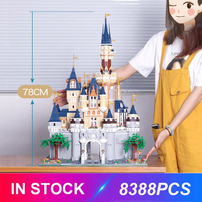 Mould King <font><b>13132</b></font> The Fairytale Castle Compatible With 71040 16008 Building Blocks Bricks Educational Toys Christmas Gifts Child image