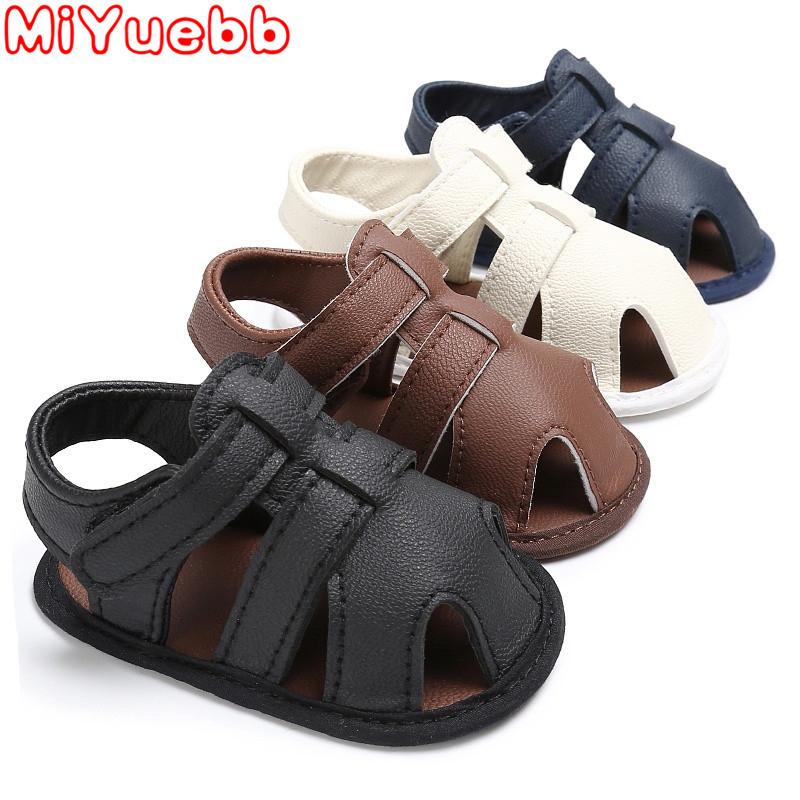 Summer Newborn Baby Boys Shoes PU Leather Kids Schoenen First Walkers Soft Soled Infant Pre Walker 2020 New Selling