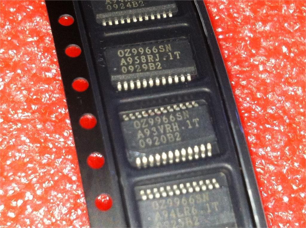 5pcs/lot OZ9966SN OZ9966 SSOP-24 In Stock