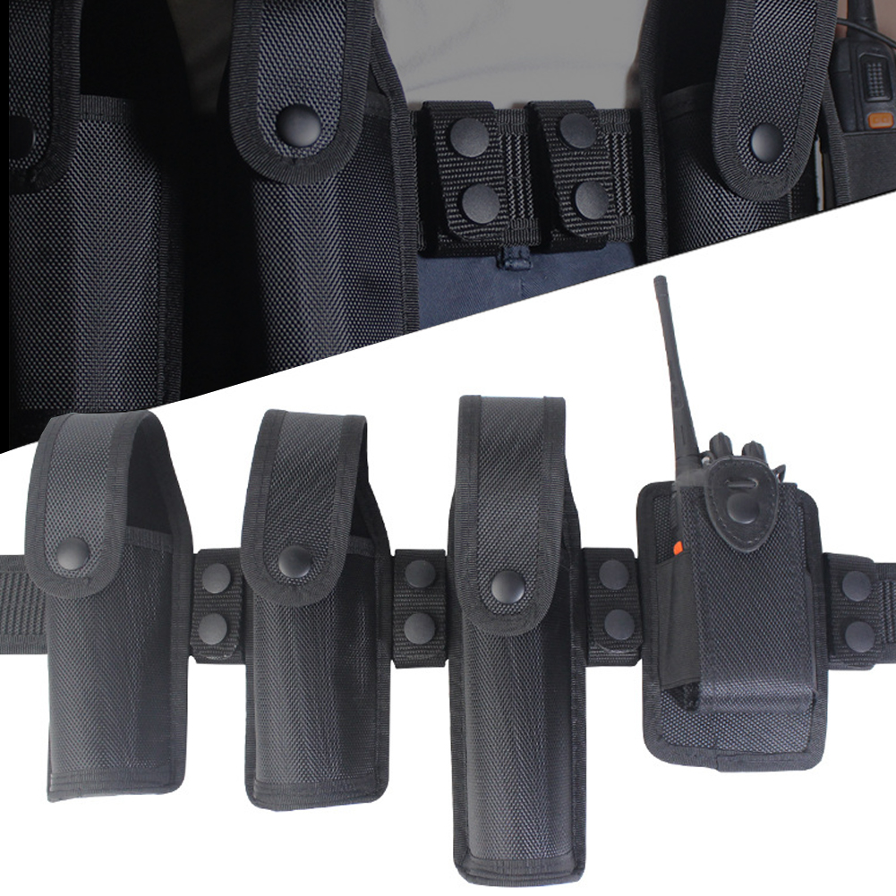 Heavy Duty Tactical Belt Men Adjustable Quick Release 4pc Keeper Men/'s Uniform