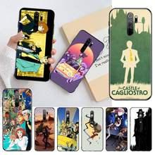 Lupin III-funda de teléfono para Redmi Note 9, 8, 8A, 8T, 7, 6, 6A, 5, 5A, 4, 4X, 4A, Go Pro